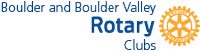 Boulder and Boulder Valley Rotary Clubs Logo
